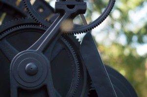 Clean Transmission Gear
