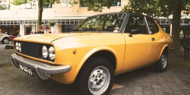 Yellow use car
