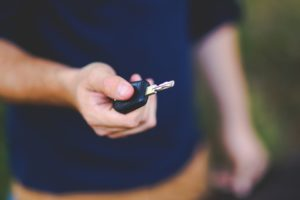 New Keys to Car
