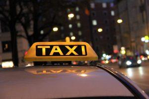 Tesla Taxi Car