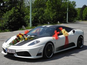 Camero Wedding Car