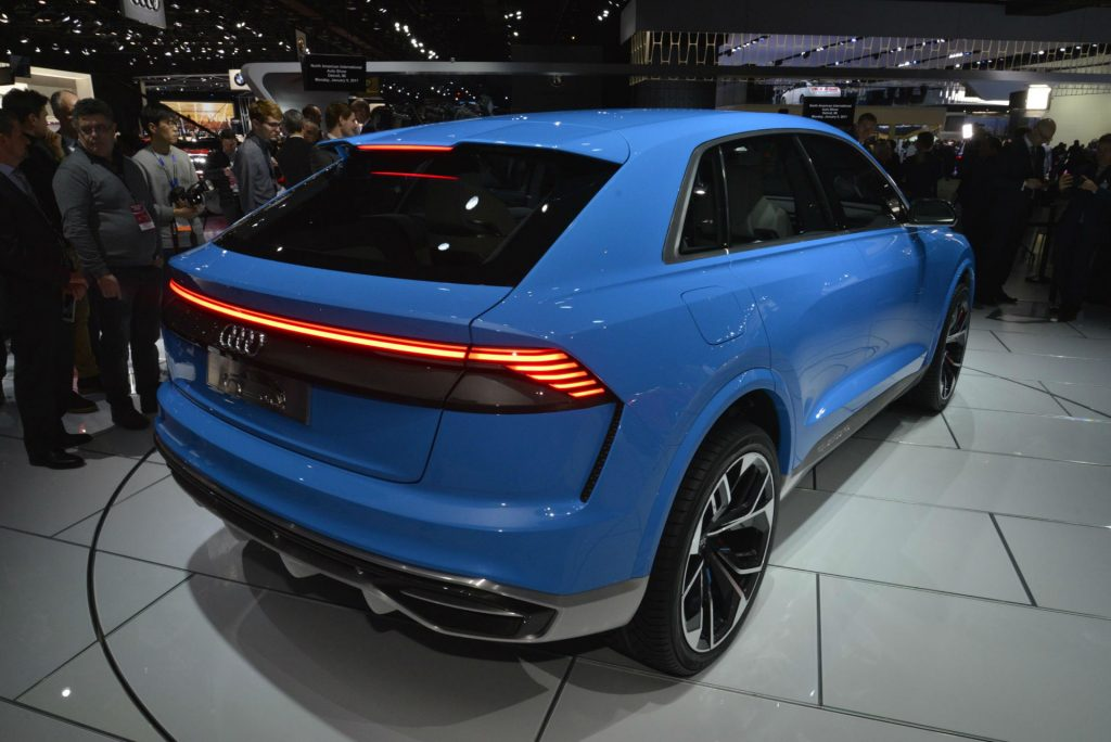 Audi Q8 Concept - NAIAS 2017 - Rear