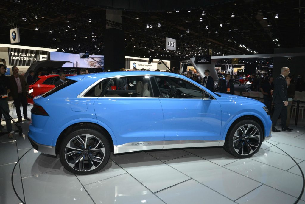 Audi Q8 Concept - NAIAS 2017 - Side