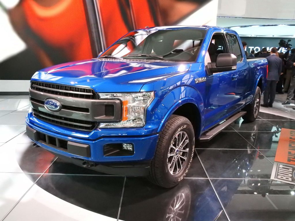 Ford F-150 Pickup - NAIAS 2017 - Front