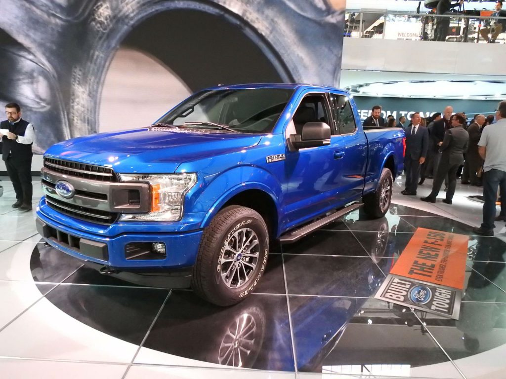 Ford F-150 Pickup - NAIAS 2017 - Side