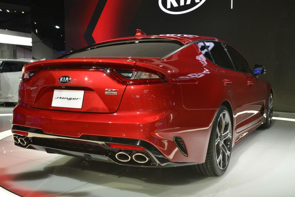 Kia Stinger - NAIAS 2017 - Rear