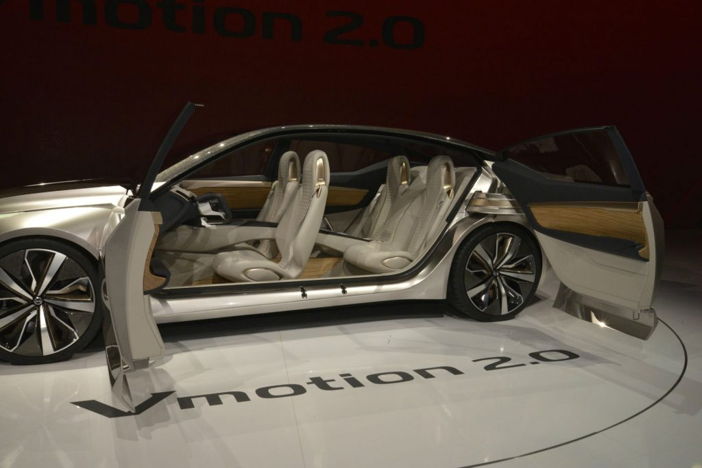 Nissan Vmotion 2.0 - NAIAS 2017 - Suicide Doors
