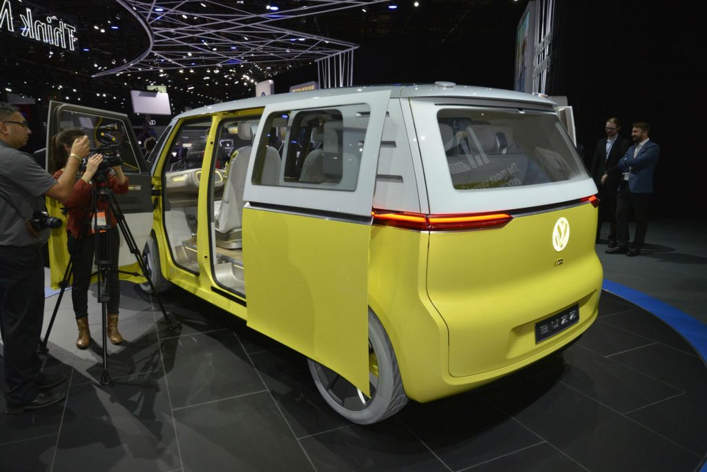 VW I.D Buzz - NAIAS 2017 - Side