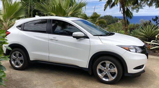 All wheel drive Honda CR-V