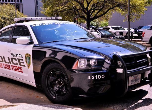 Houston cop car