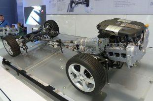 Drivetrain of Subaru