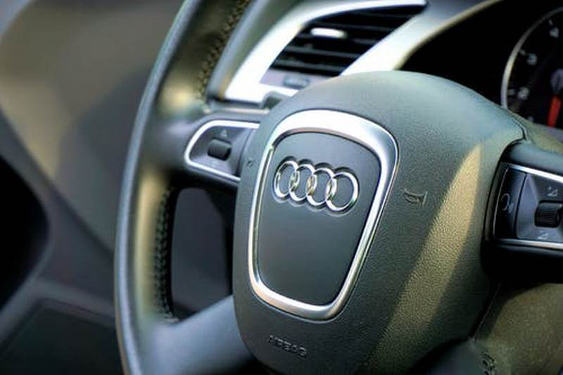 Audi RS-4 steering wheel
