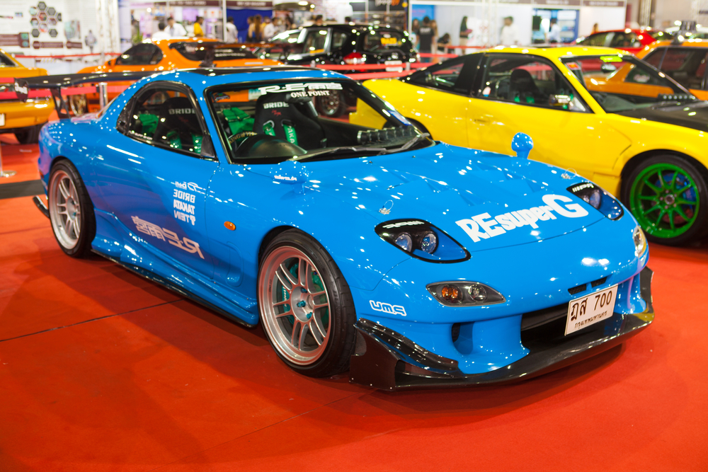 rx-7 race car