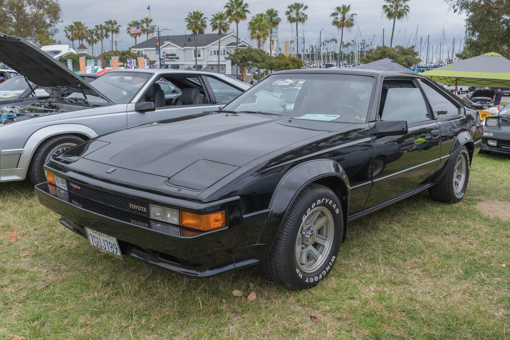 toyota supra second generation
