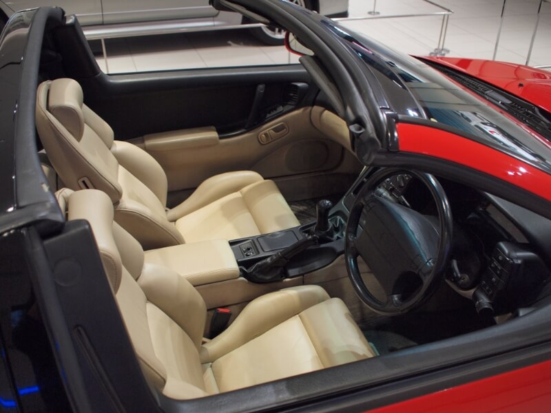 Interior of a Nissan 300ZX Twin Turbo