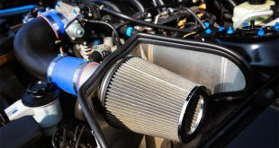 High performance cold air intake air filter