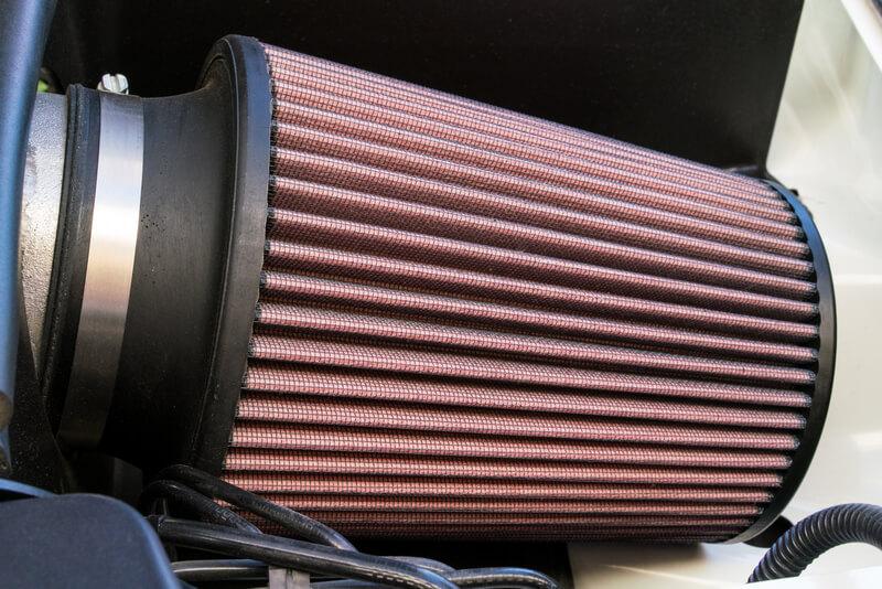 Cold air intake filter
