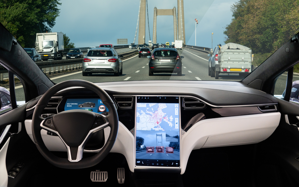 self-driving car interior