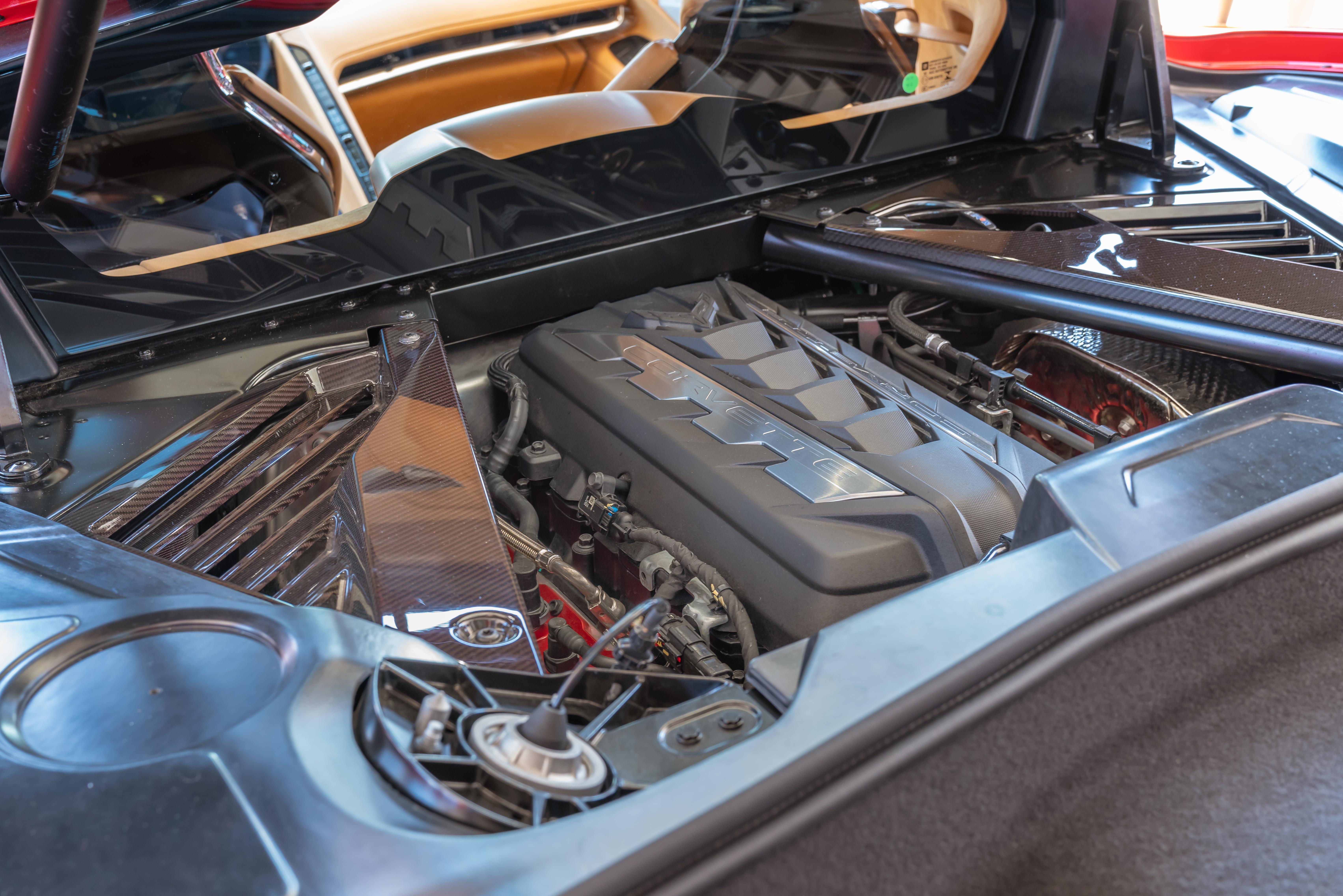mid-engine bay corvette