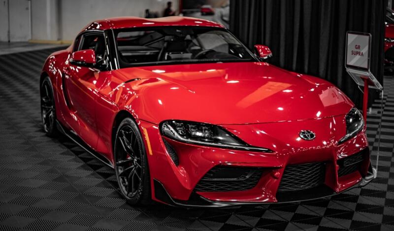 Red MKV 2020 Toyota GR Supra