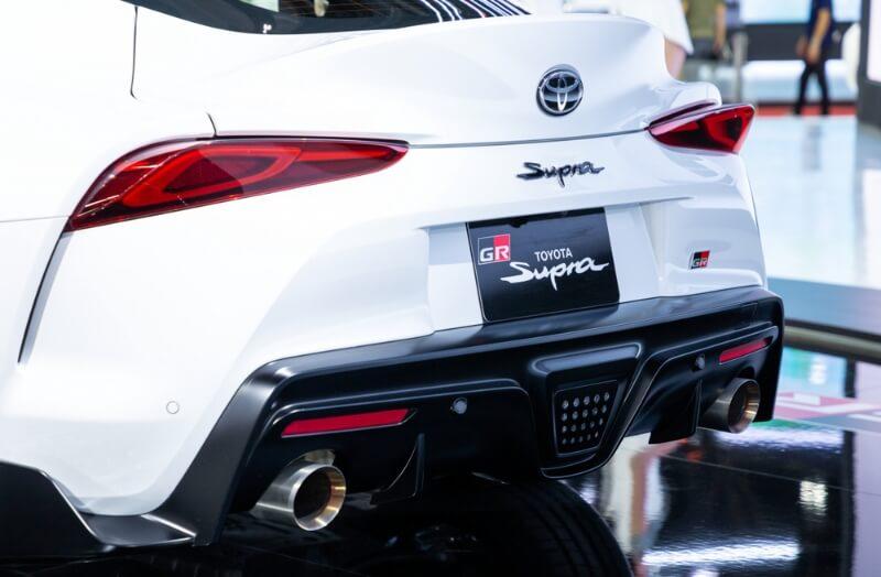 White MKV 2020 Toyota GR Supra