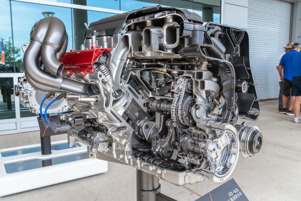 corvette v8 engine