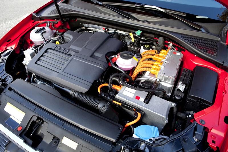hybrid gas electric engine