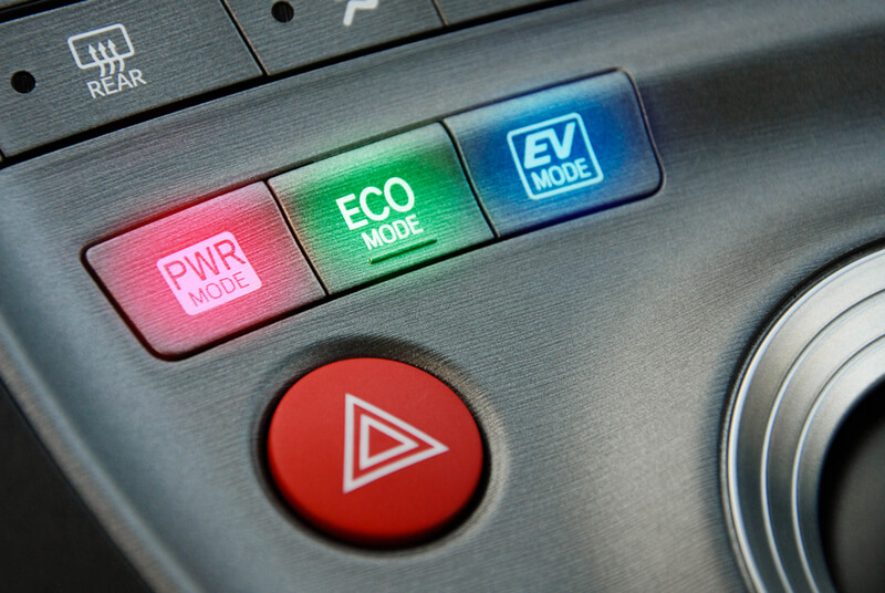 toyota hybrid driving modes