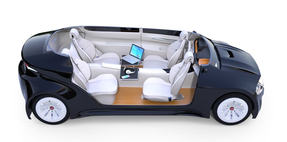 driverless car cross-section