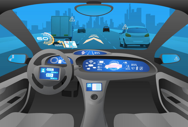 In-car view adaptive cruise control