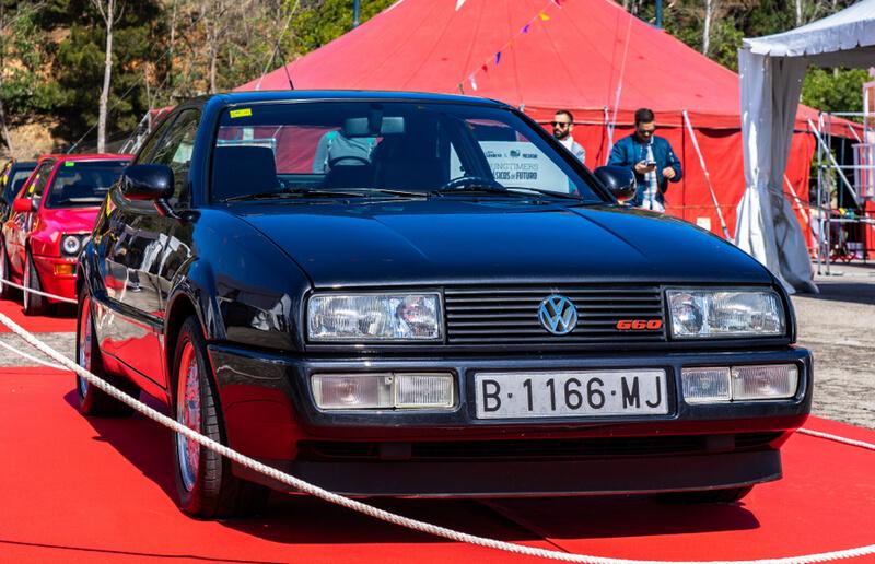 Black Volkswagen Corrado G60