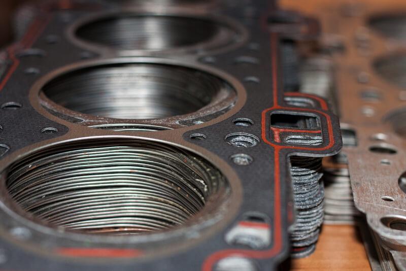 Automotive composite head gasket