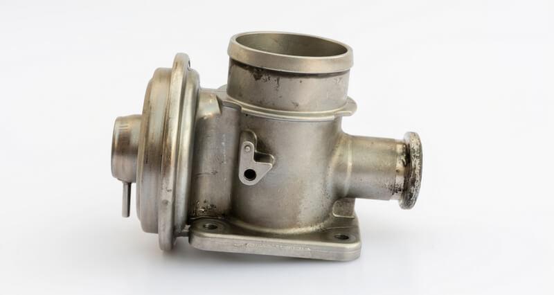 Vacuum-operated exhaust gas recirculation valve