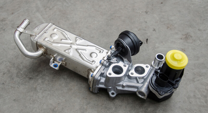 Electric water-cooled exhaust gas recirculation valve