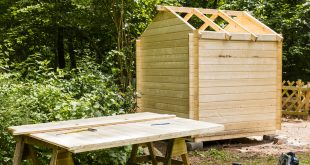Building a tool shed