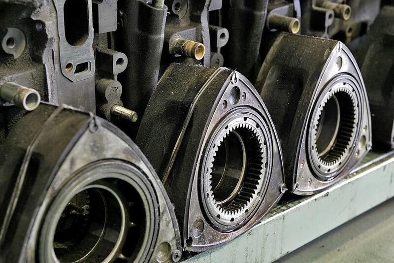 Wankel rotors of 13B engines