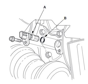 Replacing a crankshaft sensor