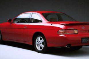 Red Lexus SC400
