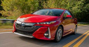 Red 2021 Toyota Prius Prime