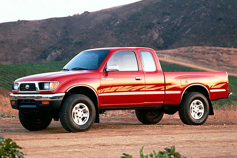 Red 95 Toyota Tacoma