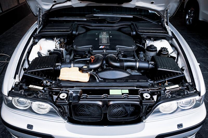 BMW E39 M5 engine bay