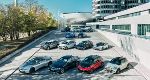 BMW Group model range of electrified vehicles