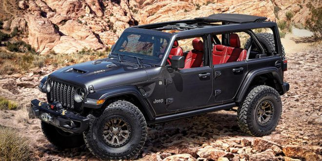 Hemi V8 Powered Jeep Wrangler