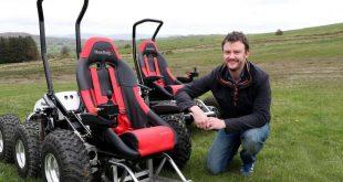 HexHog Off-Road Wheelchair