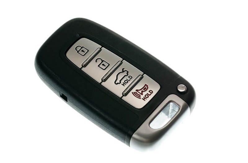 Dead key fob