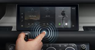 Jaguar Land Rover Predictive Touch