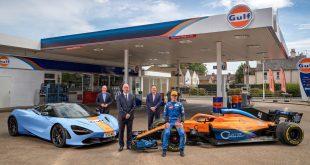 McLaren X Gulf Partneship