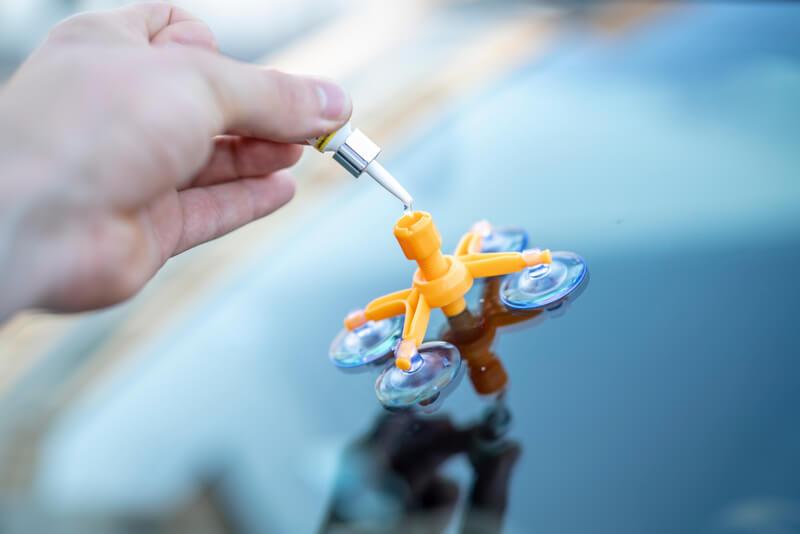 DIY windshield chip and crack repair kit