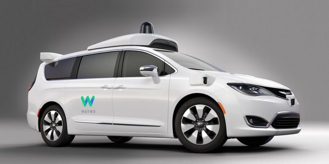 Chrysler Pacifica autonomous minivan by Waymo