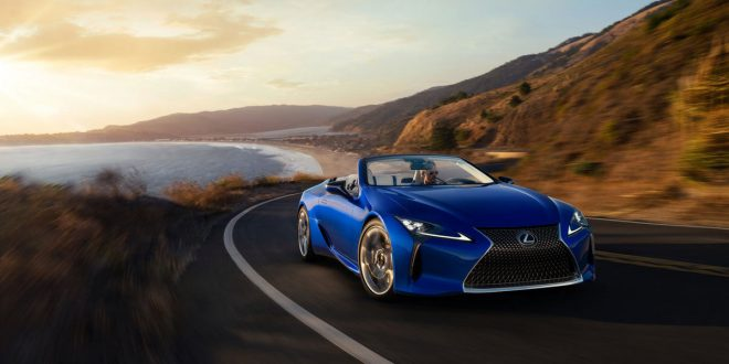 Lexus Luxurious LC 500 Lives Up to its Gorgeous Looks as a Convertible